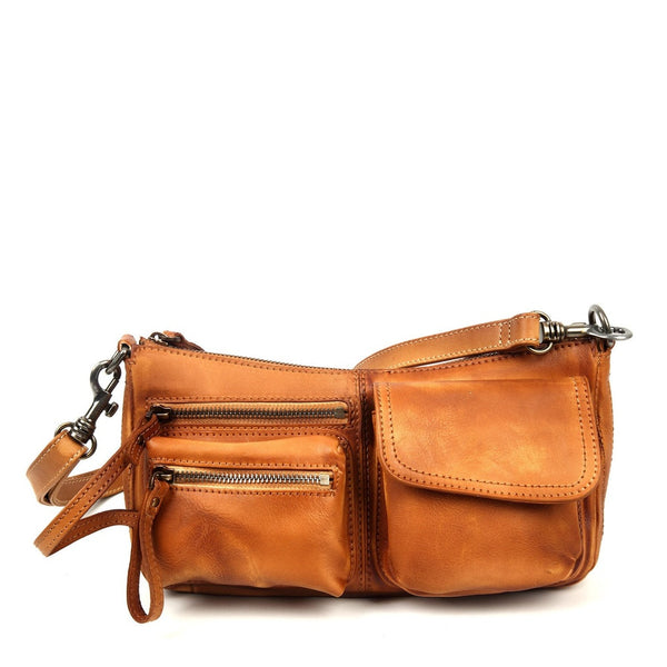 Cooper Leather Crossbody - Ceiba Imports