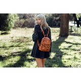 Petti Pack Leather Backpack - Ceiba Imports