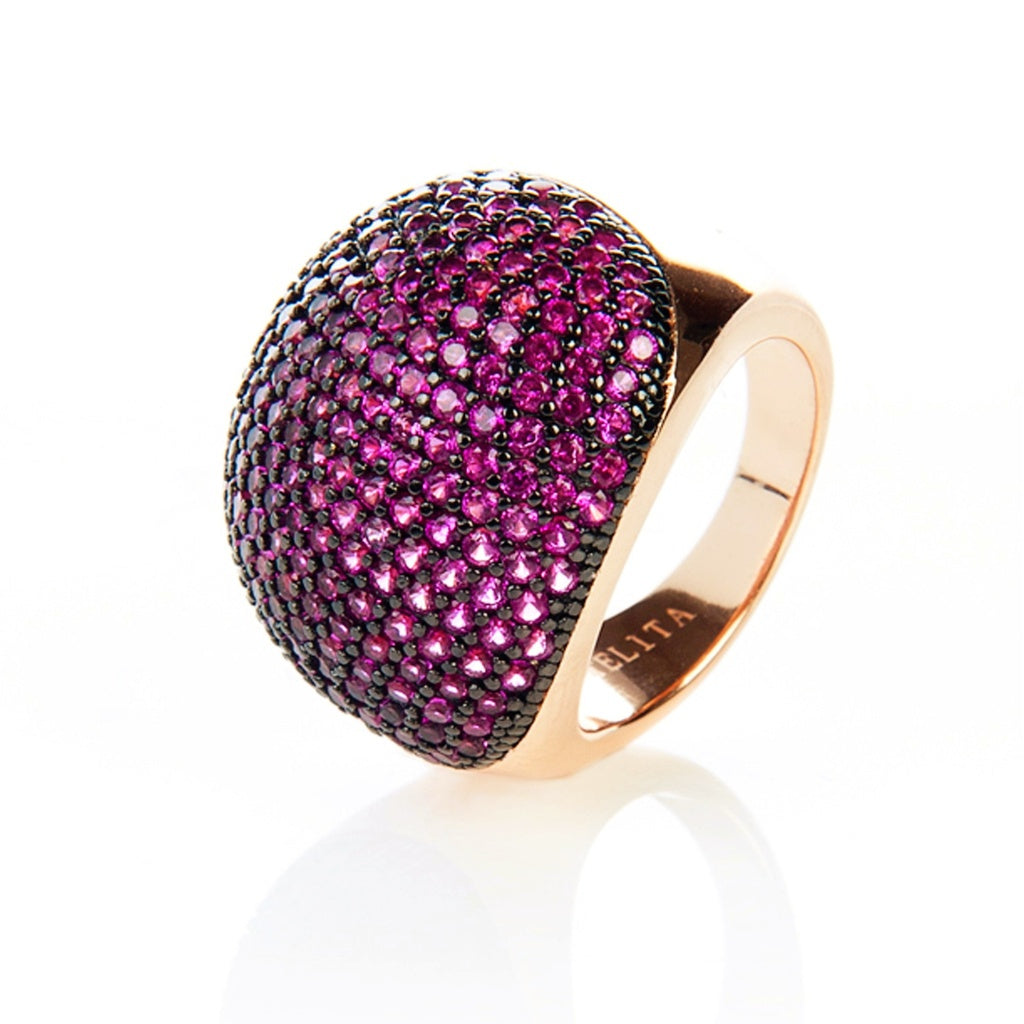Ruby Ball Ring - Ceiba Imports