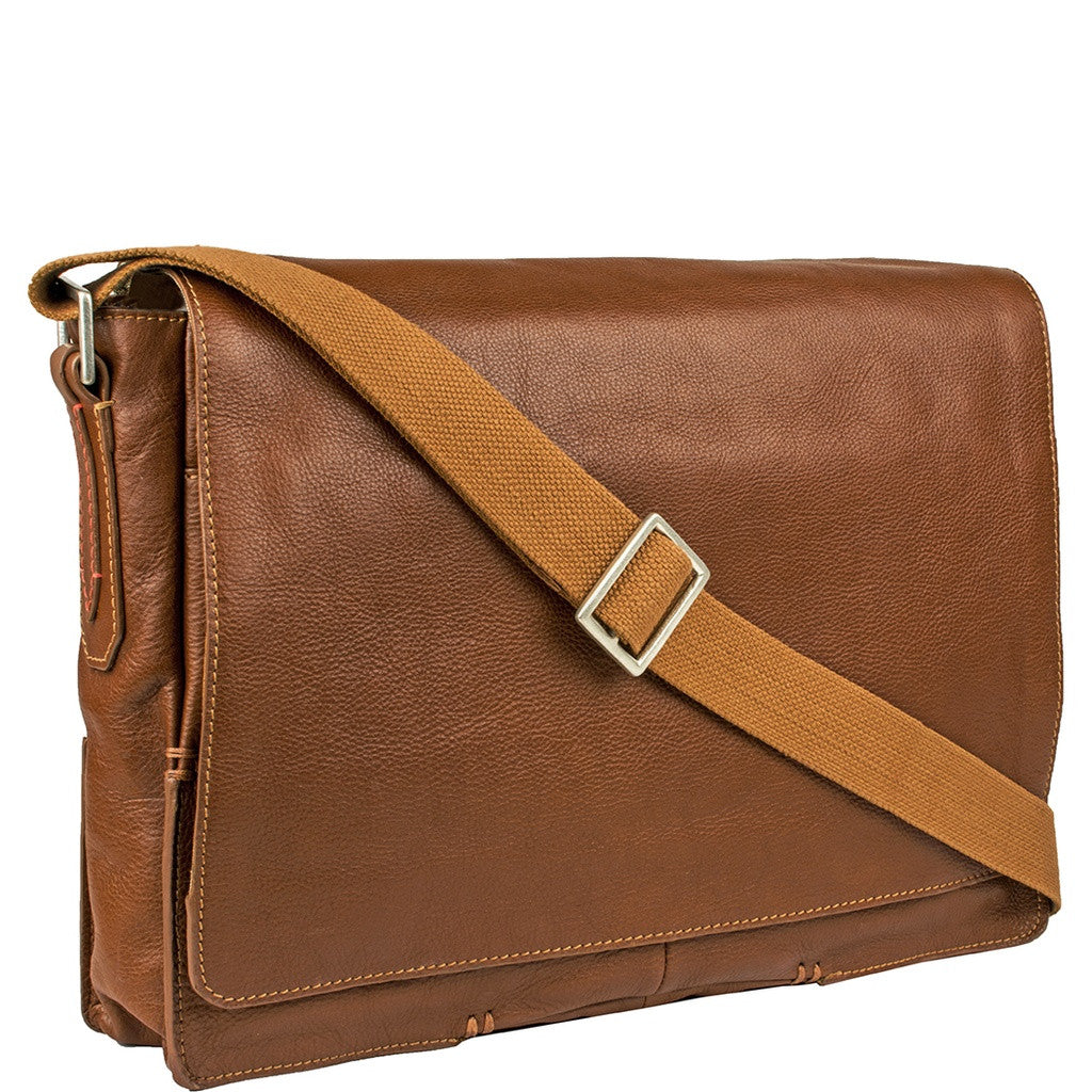 Fred Laptop Messenger Bag - Ceiba Imports