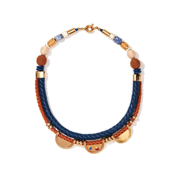 Leatherette Necklace - Ceiba Imports