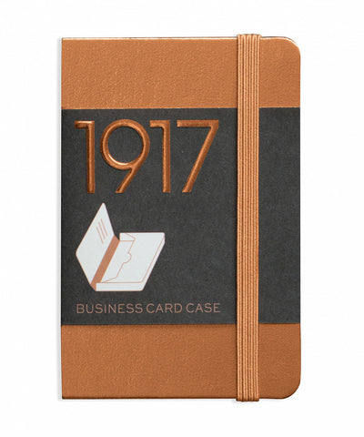 Business card cases the hamilton pen company leuchtturm1917 100 year anniversary edition business card case copper reheart Images