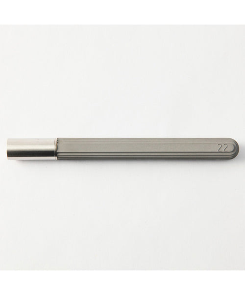 22 Design Concrete Rollerball Pen - Original Grey