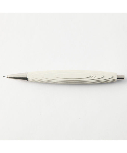 22 Design Concrete Mechanical Pencil - White