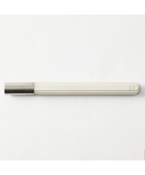 22 Design Concrete Rollerball Pen - White
