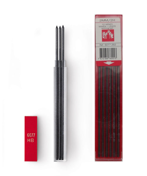 Caran d'Ache 2mm Clutch Pencil Lead Refills