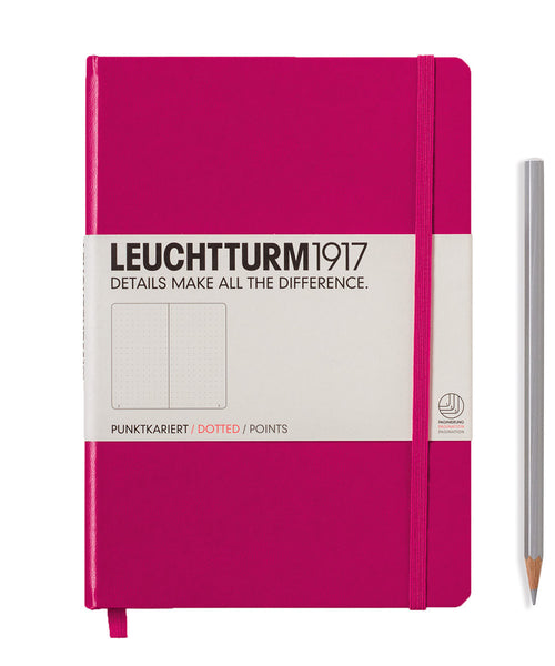 Leuchtturm1917 Medium (A5) Hardcover Notebook - Berry