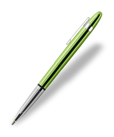 Fisher Bullet Space Pen - Lime Green with Pocket Clip