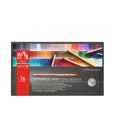 Caran d'Ache Luminance 6901 Coloured Pencils - Set of 76