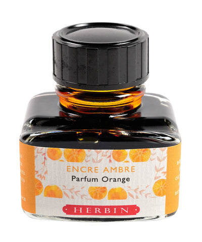 J Herbin Scented Ink (30ml) - Amber (Orange scented)