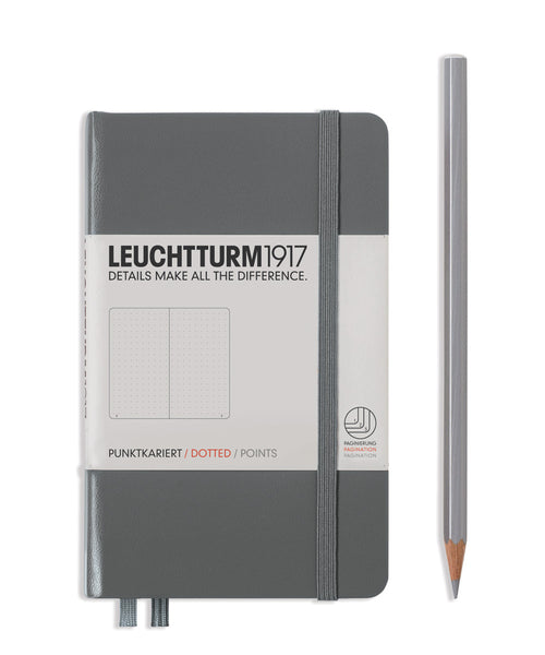 Leuchtturm1917 Pocket (A6) Hardcover Notebook - Anthracite