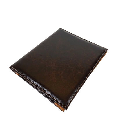 Archie's Leather B5 Notebook - Dark Chocolate Brown