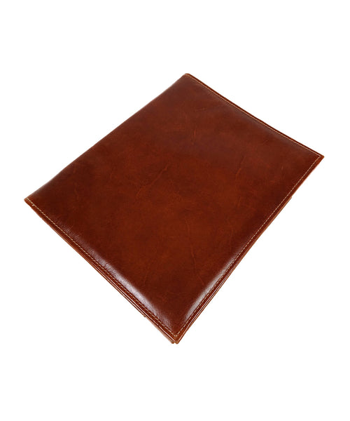 Archie's Leather B5 Notebook - Cognac Brown