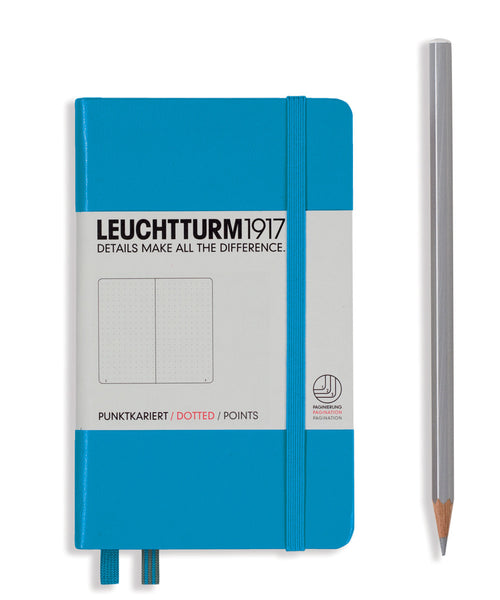 Leuchtturm1917 Pocket (A6) Hardcover Notebook - Azure