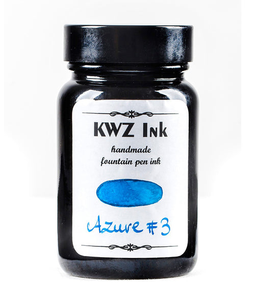 KWZ Standard Fountain Pen Ink - Azure No.3