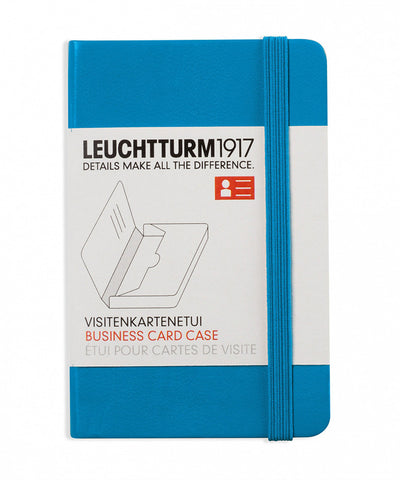 Leuchtturm1917 Business Card Case - Azure