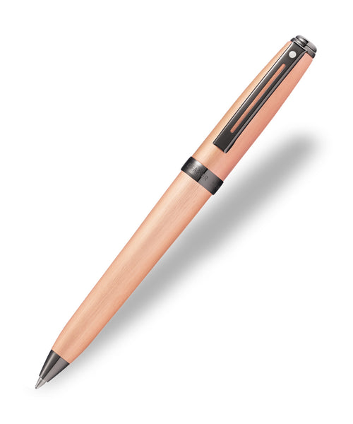 Sheaffer Prelude Ballpoint Pen - Brushed Copper with Black Trim