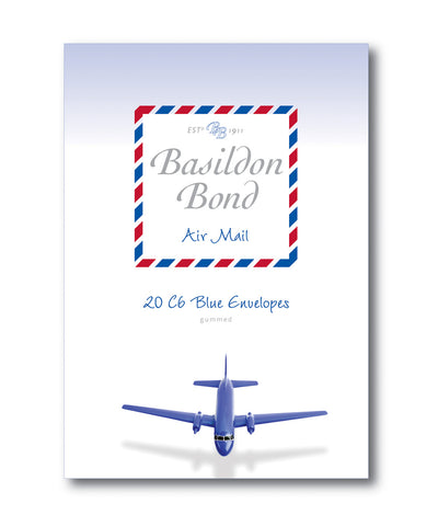 Basildon Bond Envelopes - Blue Air Mail