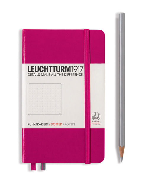 Leuchtturm1917 Pocket (A6) Hardcover Notebook - Berry