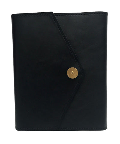 PAP Rasmus Leather A6 Notebook - Black