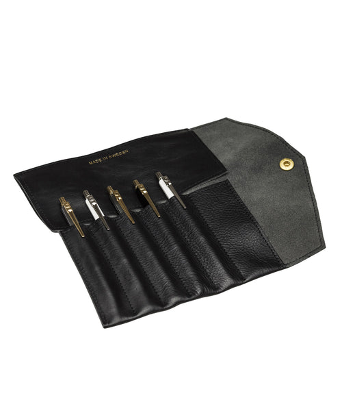 PAP Fiffi 6 Pen Case Folder - Black