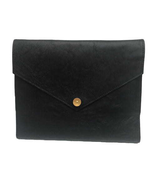 PAP Mia Leather A5 Notebook - Black