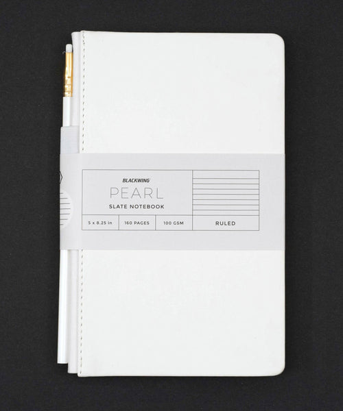 Blackwing Pearl Slate Notebook - White