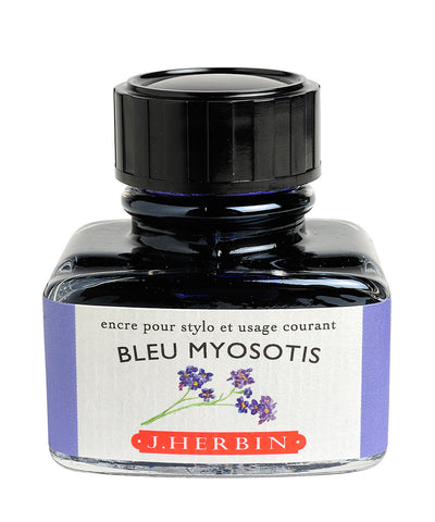 J Herbin Ink (30ml) - Bleu Myosotis (Forget-Me-Not Blue)