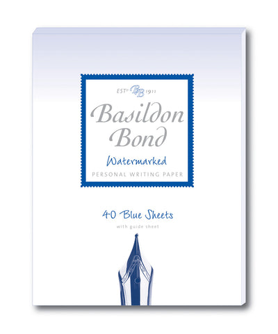 Basildon Bond Writing Paper - Pale Blue