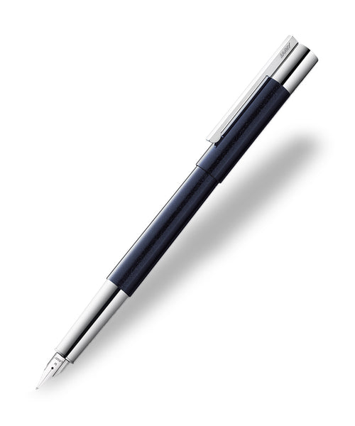 Lamy Scala Fountain Pen - Blue/Black (2015 Special Edition)