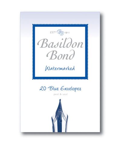 Basildon Bond Envelopes - Pale Blue