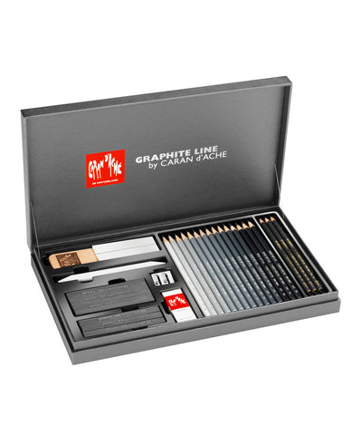 Caran d'Ache Graphite Line Satin Box Set