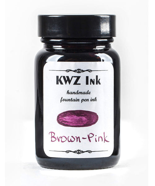 KWZ Standard Fountain Pen Ink - Brown Pink
