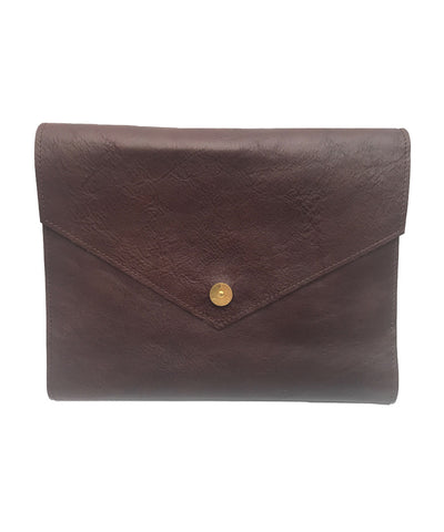 PAP Mia Leather A5 Notebook - Brown