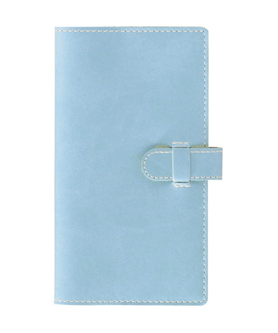 Castelli Arles Pocket Ruled Notebook - Baby Blue