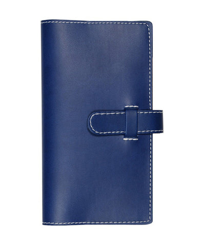 Castelli Arles Pocket Ruled Notebook - China Blue