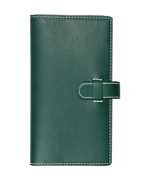 Castelli Arles Pocket Ruled Notebook - Green