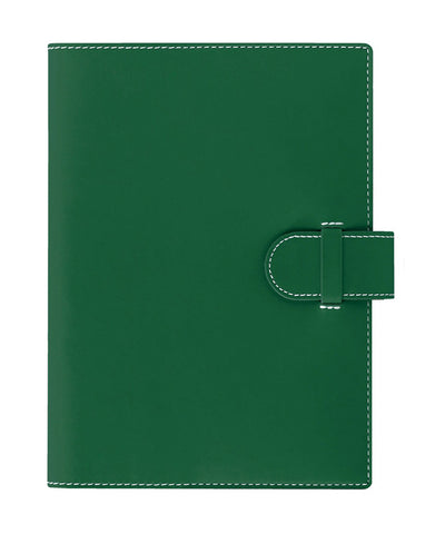 Castelli Arles A5 Ruled Notebook - Green