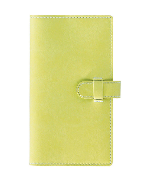 Castelli Arles Pocket Ruled Notebook - Lime Green