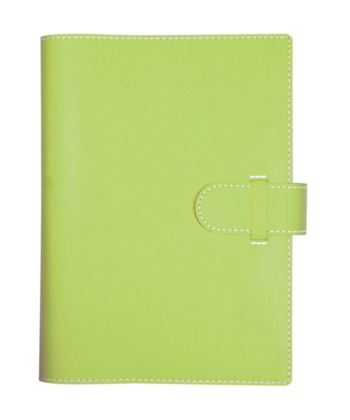 Castelli Arles A5 Ruled Notebook - Lime Green