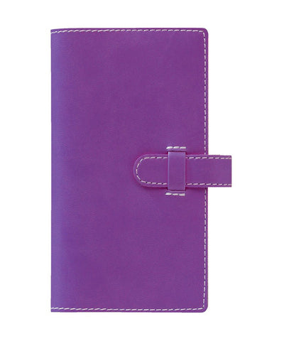 Castelli Arles Pocket Ruled Notebook - Purple