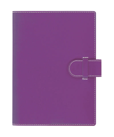 Castelli Arles A5 Ruled Notebook - Purple