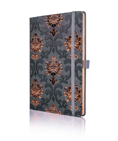 Castelli Black & Copper Collection Notebook - Baroque Copper
