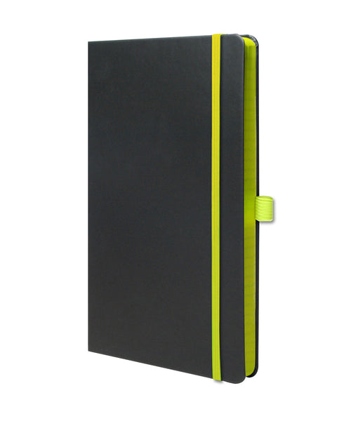 Castelli Edge Medium Ruled Notebook - Green