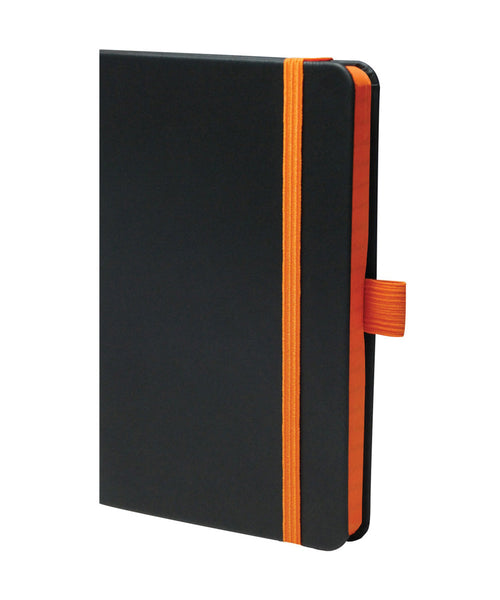 Castelli Edge Pocket Ruled Notebook - Orange
