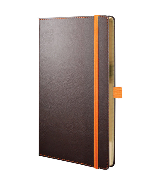 Castelli Phoenix Medium Notebook - Orange