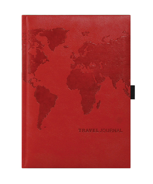 Castelli Travel Journal - Pearl Red