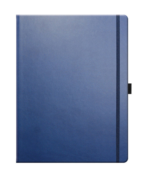 Castelli Tucson Large Ruled Notebook - China Blue
