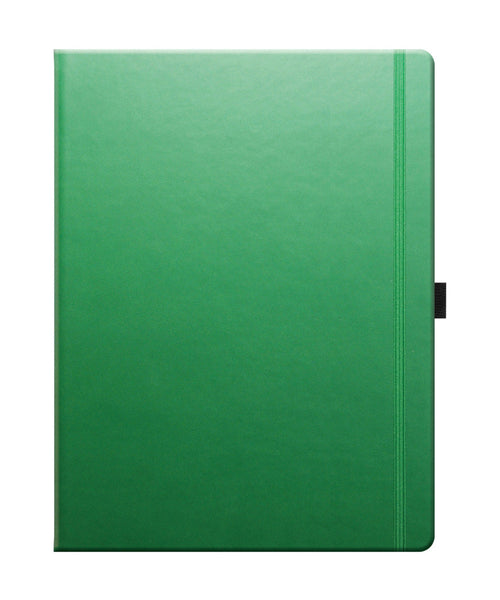 Castelli Tucson Large Ruled Notebook - Forest Green