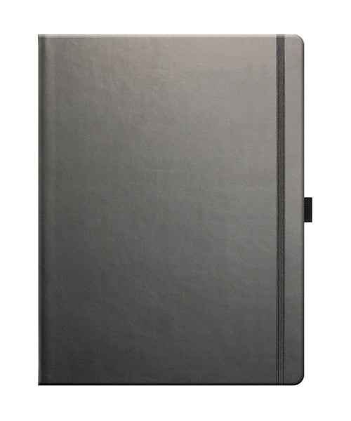 Castelli Tucson Large Ruled Notebook - Graphite